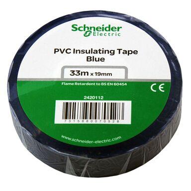 Taśma izolacyjna 19 mm X 33 m niebieska 2420112 SCHNEIDER ELECTRIC