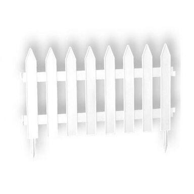 Płotek rabatowy 320 x 35 cm plastikowy biały GARDEN PROSPERPLAST