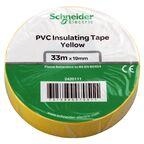 Taśma izolacyjna 19 mm X 33 m żółta 2420111 SCHNEIDER ELECTRIC