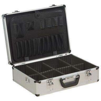 Walizka aluminiowa na narzędzia LD-FS001 45.5 x 33 x 15 cm Dexter