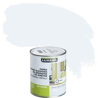 Emalia OLEJNO-ALKIDOWA 0,75 l White LUXENS