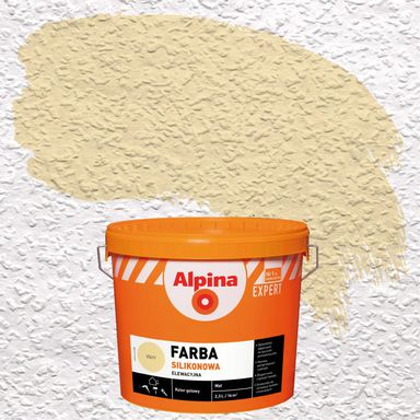 Farba elewacyjna SILIKONOWA 2.5 l Żółty ALPINA EXPERT