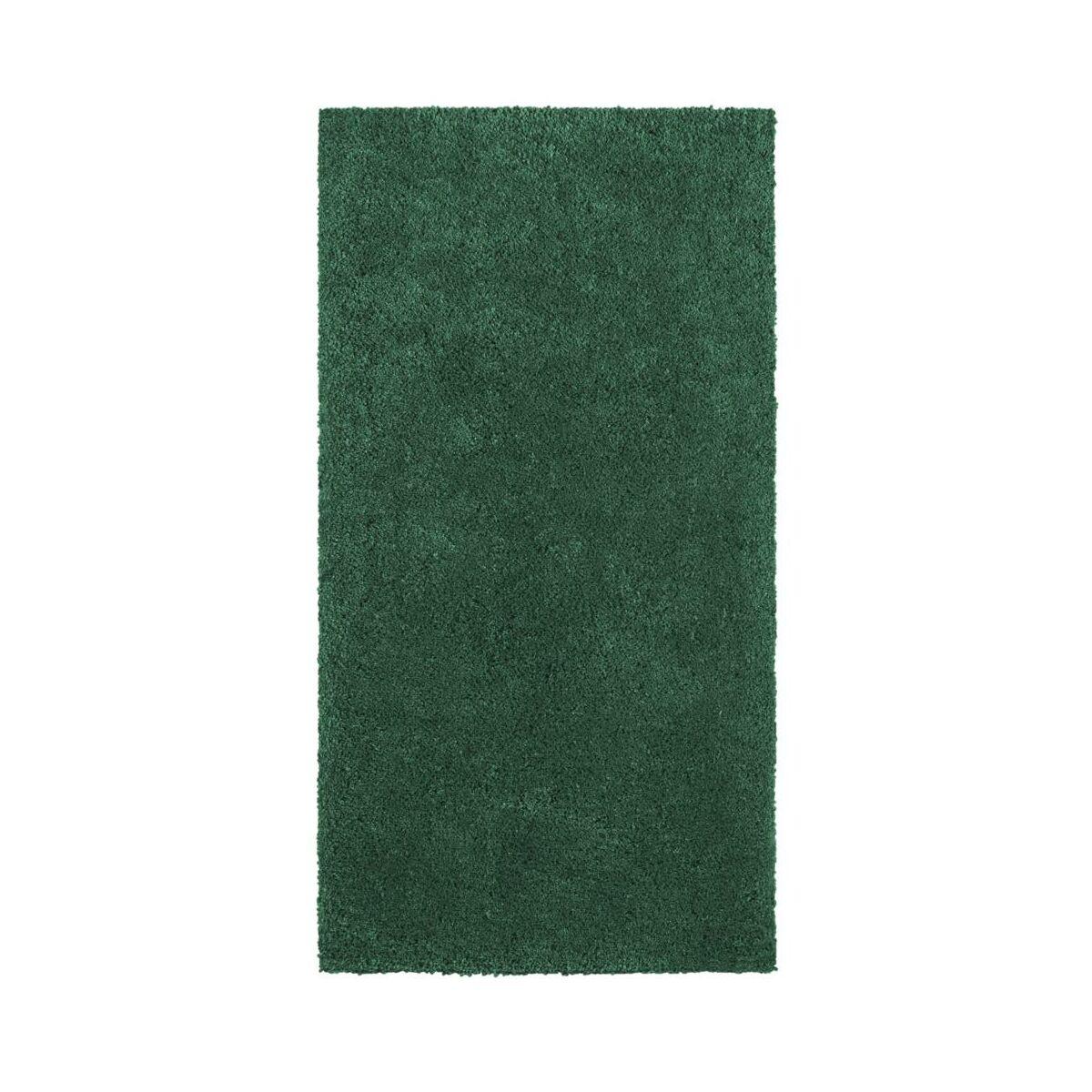 Dywan Shaggy Super Soft Ciemnozielony 60 X 120 Cm Inspire Dywany Wewnetrzne W Atrakcyjnej Cenie W Sklepach Leroy Merlin