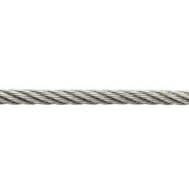 Linka stalowa nierdzewna 150 kg 4 mm x 1 mb STANDERS