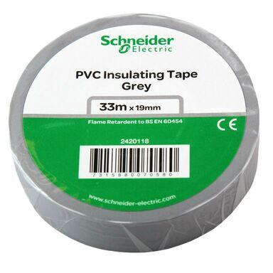 Taśma izolacyjna 19 mm X 33 m szara 2420118 SCHNEIDER ELECTRIC