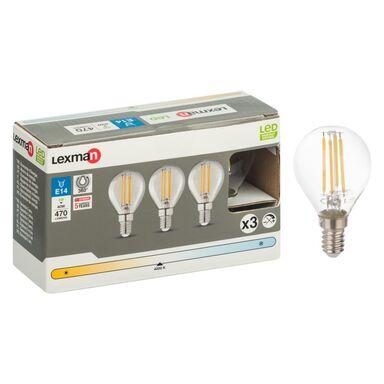 Zestaw żarówek LED E14 (230 V) 4 W 470 lm Neutralny LEXMAN