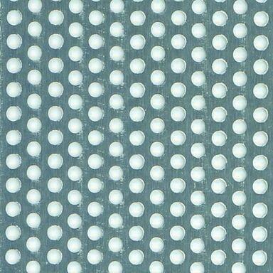 Blacha dziurkowana 250 x 500 x 1 mm aluminiowa połysk GAH ALBERTS