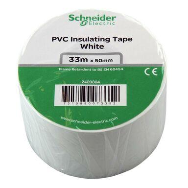 Taśma izolacyjna 50 mm X 33 m biała 2420304 SCHNEIDER ELECTRIC