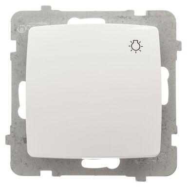 Przycisk do światła KARO  biały  OSPEL