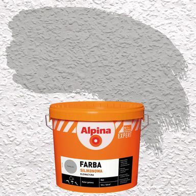Farba elewacyjna akrylowa FARBA ELEWACYJNA Popielaty ALPINA EXPERT