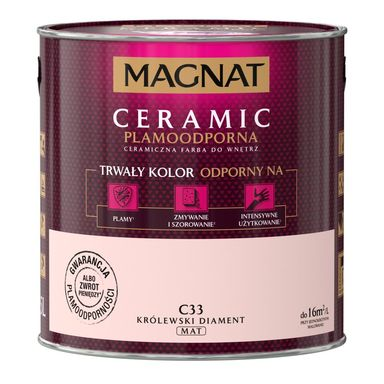 Farba wewnętrzna CERAMIC 2.5 l Królewski diament MAGNAT