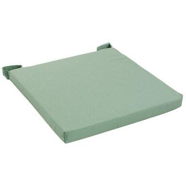 Poduszka na krzesło Joy zielona 40 x 40 x 4 cm Inspire
