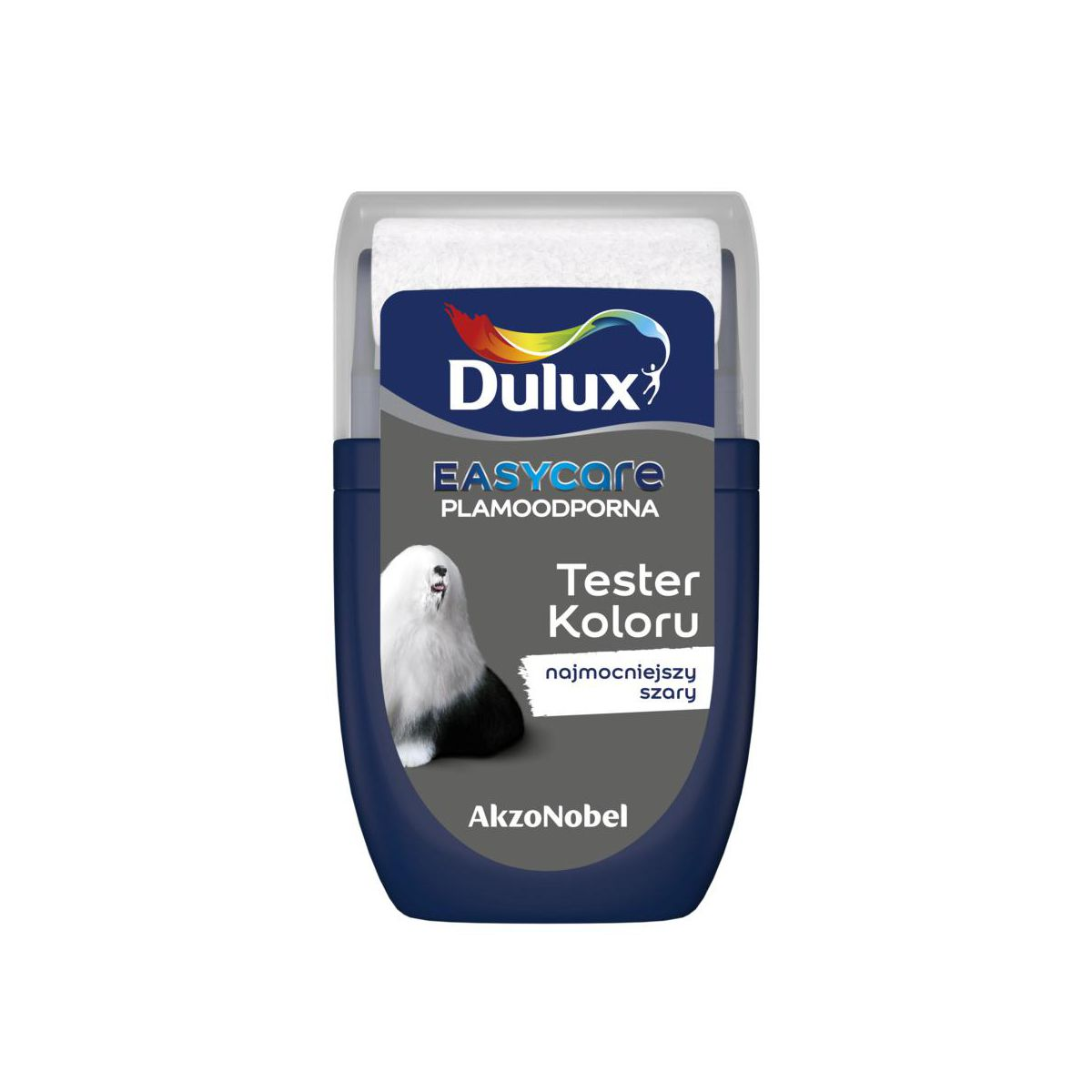 Tester farby EASYCARE 30 ml Najmocniejszy szary DULUX