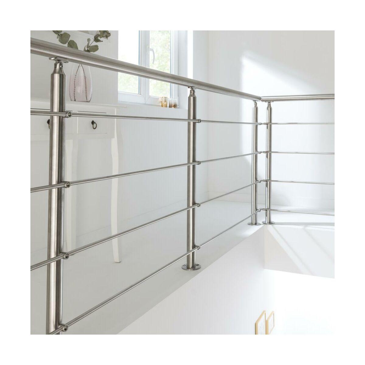Balustrada Kompletna Satynowa 1 M Artens Balustrady Drewniane I Metalowe W Atrakcyjnej Cenie W Sklepach Leroy Merlin