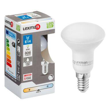 Żarówka LED E14 (230 V) 7 W 806 lm LEXMAN