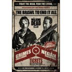 Plakat THE WALKING DEAD-FIGHT 61 x 91.5 cm