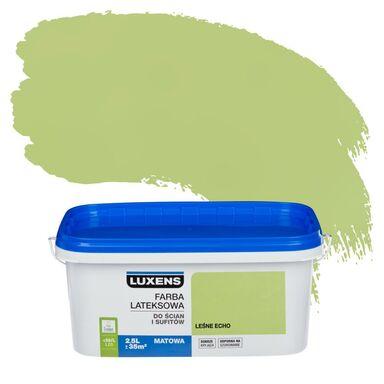 Farba wewnętrzna do ścian i sufitów EMULSJA 2.5 l Leśne echo LUXENS