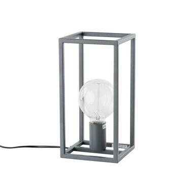 Lampa stołowa SIGALO szara E27 ITALUX