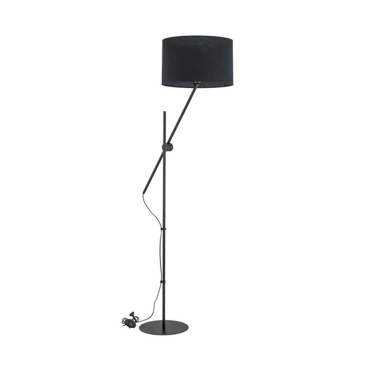Lampa Podłogowa Lora Czarna E27 Alfa