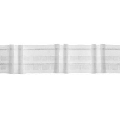 Taśma marszcząca na mb 2 zakładki 50 mm marszczenie 1 : 2 biała