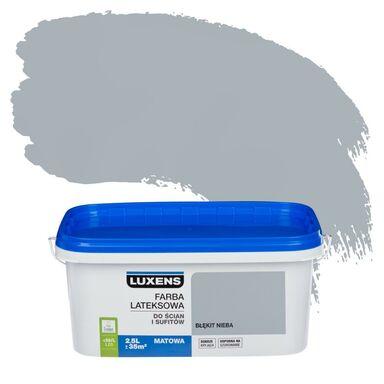 Farba wewnętrzna do ścian i sufitów EMULSJA 2.5 l Błękit nieba LUXENS
