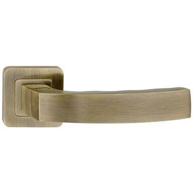 Klamka drzwiowa na rozecie MONDO Patyna