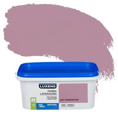 Farba wewnętrzna EMULSJA 2.5 l Lody truskawkowe LUXENS