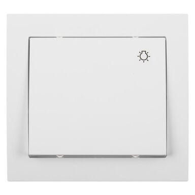 Przycisk do światła IMPRESJA  biały  OSPEL
