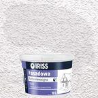 Farba elewacyjna AKRYLOWA FASADOWA 10 l Biały IRISS