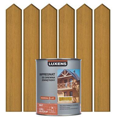 Impregnat do drewna ZEWNĘTRZNY 0.75 l Cedr himalajski LUXENS