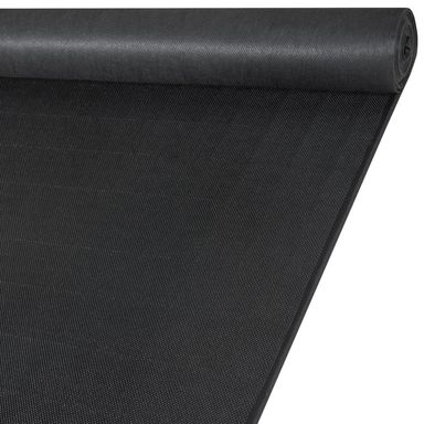 Tkanina na mb KUBA czarna imitacja skóry szer. 138 cm