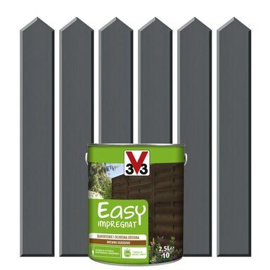 Impregnat do drewna EASY 2.5 l Antracytowy V33
