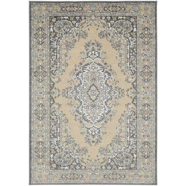 Dywan Shiny beżowo-szary 160 x 230 cm