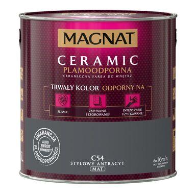 Farba wewnętrzna CERAMIC 2.5 l Stylowy antracyt MAGNAT