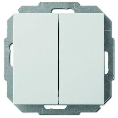 Włącznik podwójny SENTIA  Biały  ELEKTRO-PLAST