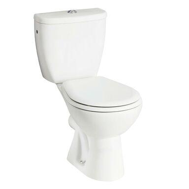 WC kompakt FORTE Z PÓŁKĄ KOŁO