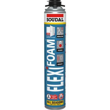 Pianka poliuretanowa pistoletowa Flexifoam 750 ml SOUDAL