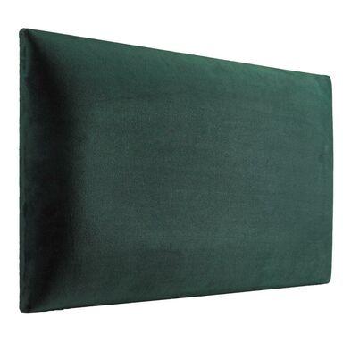 Panel tapicerowany Ciemnozielony 60 x 30 cm