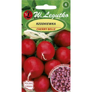 Rzodkiewka CHERRY BELLE nasiona zaprawiane 10 g W. LEGUTKO