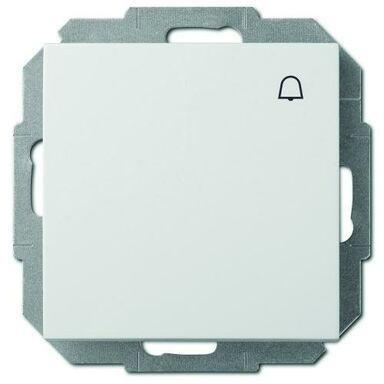 Przycisk do dzwonka SENTIA  biały  ELEKTRO - PLAST