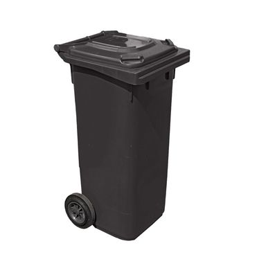 Kosz na śmieci 120 l ARREGUI czarny na odpady zmieszane