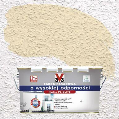 Farba elewacyjna akrylowa O WYSOKIEJ ODPORNOŚCI Kremowy V33