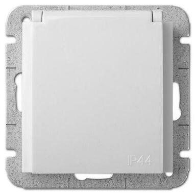 Gniazdo pojedyncze IP44 SENTIA  Biały  ELEKTRO-PLAST