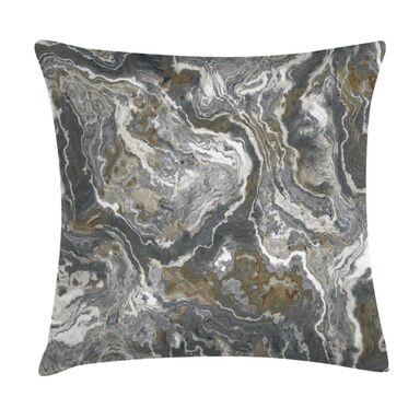 Poduszka Mineri szara imitacja kamienia 45 x 45 cm