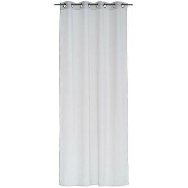 Firana na przelotkach LIENZO 140 x 260 cm biała INSPIRE