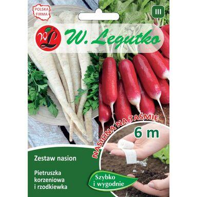 Nasiona warzyw PIETRUSZKA, RZODKIEWKA Mieszanka W. LEGUTKO