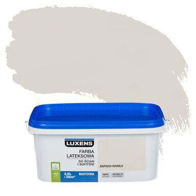 Farba wewnętrzna do ścian i sufitów EMULSJA 2.5 l Zapach wanilii LUXENS