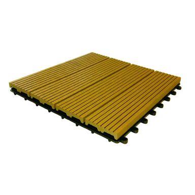 Podest tarasowy kompozytowy 30 x 30 cm 20 mm teak IDECK DLH