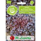 Sałata liściowa nasiona BIO Red Salad Bowl W. LEGUTKO