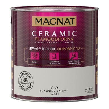 Farba wewnętrzna CERAMIC 2.5 l Zgaszony kalcyt MAGNAT